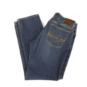 Lucky Brand The Sweet Jean Straight Sz 12/31 Ankle